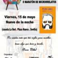 II maratón de microrrelatos
